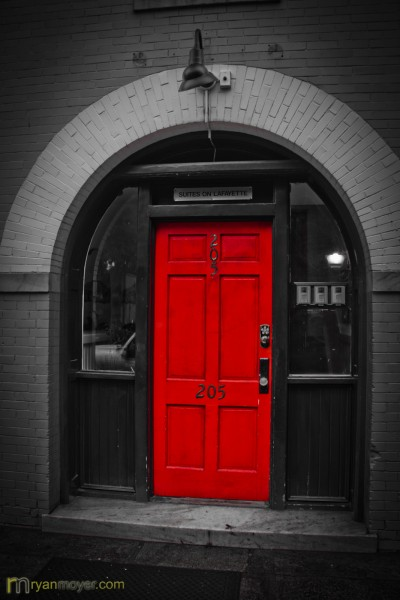 Behind the Red Door